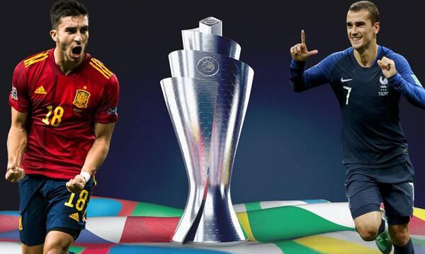 Live Chat Ισπανία-Γαλλία 1-2 (τελικό)