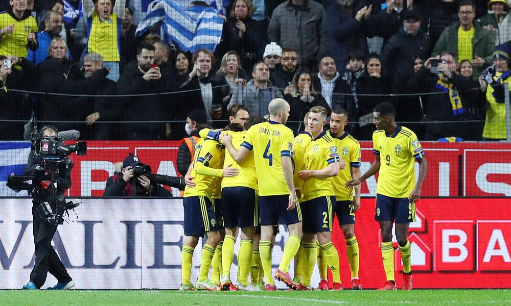 Σουηδία-Ελλάδα: Χαζό πέναλτι από Μαυροπάνο, γκολ από το πουθενά οι Σουηδοί (video)