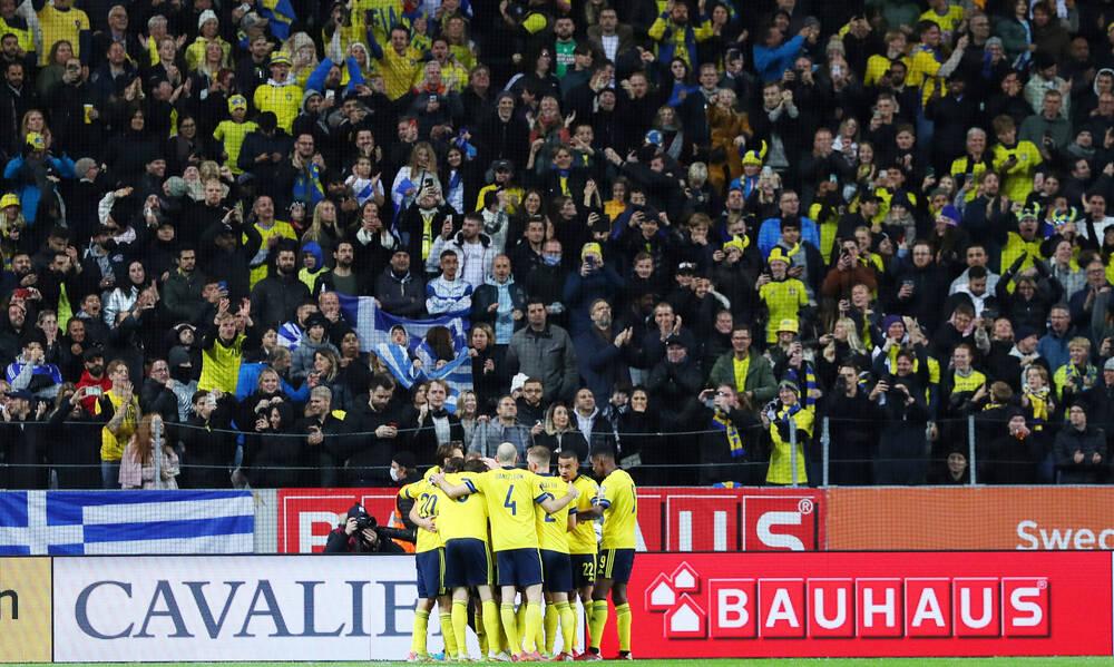 Σουηδία-Ελλάδα: Τραγικό λάθος της άμυνας και 2-0 ο Ισάκ (video)