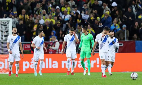 Σουηδία-Ελλάδα 2-0: Κατέρρευσε μετά το πέναλτι και λέει «αντίο» στο Κατάρ (videos+photos)