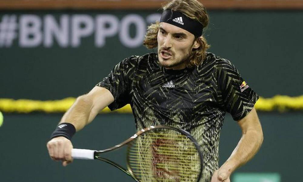 Στέφανος Τσιτσιπάς: Η ώρα του επόμενου αγώνα του στο Indian Wells
