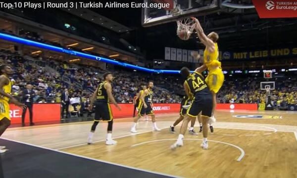 Euroleague: Στην πρώτη θέση του Top 10 ο Σίκμα