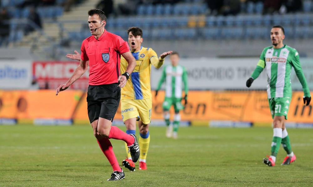 Super League: Οι διαιτητές της 6ης αγωνιστικής - Ο Μανούχος στη Λεωφόρο, Παπαδόπουλος στο ΟΑΚΑ