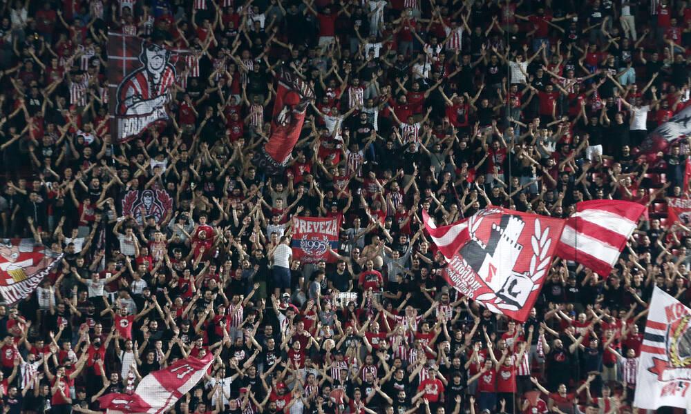 Άιντραχτ Φρανκφούρτης-Ολυμπιακός: Με πάνω από 2.000 οπαδούς στη Γερμανία