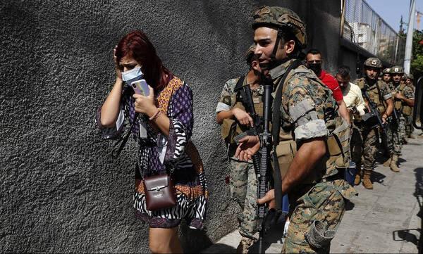 Λίβανος: Σκηνές εμφυλίου πολέμου στη Βηρυτό -Πυρά με νεκρούς σε διαδήλωση υποστηρικτών της Χεζμπολάχ
