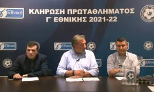 Γ' Εθνική: Κλήρωση χωρίς ομάδες Super League 2 - Όλο το πρόγραμμα των ομίλων