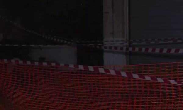 Κακοκαιρία «Μπάλλος»: Έπεσε κι άλλο μπαλκόνι - Τρόμος και στη Μεταμόρφωση (photos)