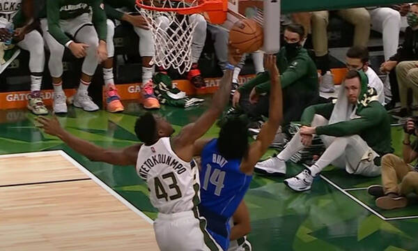 NBA Top-10: Με πρωταγωνιστή τον Θανάση Αντετοκούνμπο (video)