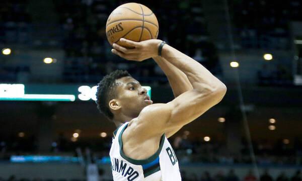 NBA: Η αισθητή βελτίωση του Γιάννη Αντετοκούνμπο (photos+video)