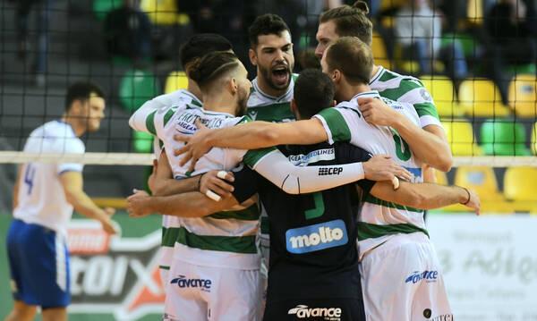 Volley League: Σαρωτικός στην Πρεμιέρα ο Παναθηναϊκός νίκησε 3-0 σετ την Κηφισιά (photos)