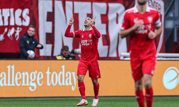Eredivisie: Σκόραρε ο Λημνιός κόντρα στον Καμπετσή στο Τβέντε-Βίλεμ 1-1! (photos)