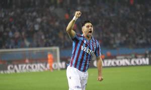 Τουρκία: Μαγικός Μπακασέτας - Δύο γκολ και χορός στο Τράμπζονσπορ-Φενέρ 3-1! (videos)