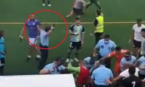 Χάος στην Πορτογαλία: Επεισόδια παικτών με οπαδούς - Αστυνομικός πυροβόλησε στον αέρα