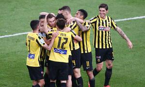 ΑΕΚ-Ατρόμητος 3-0: Έτσι νίκησαν οι «κιτρινόμαυροι» του Γιαννίκη (photos+video)