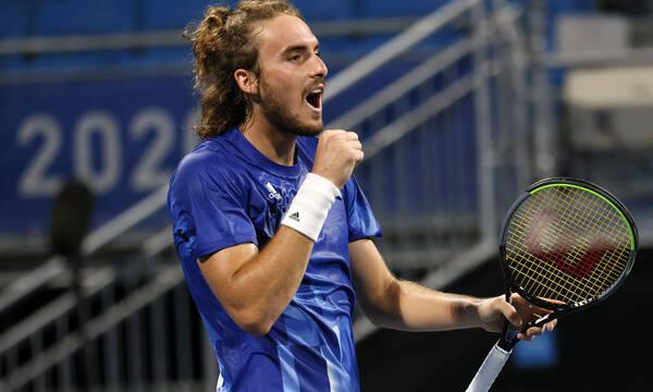 Τένις: Ακλόνητος στο Νο 3 ο Τσιτσιπάς