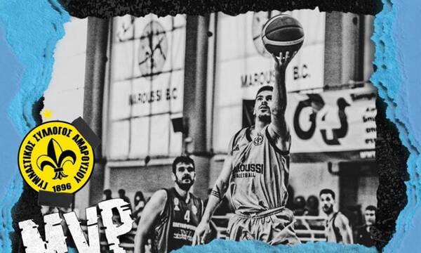 A2 Ανδρών: Πολυτιμότερος παίκτης o Στασινός!