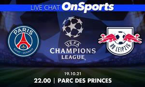 Live Chat Παρί Σεν Ζερμέν-Λειψία 3-2 (τελικό)