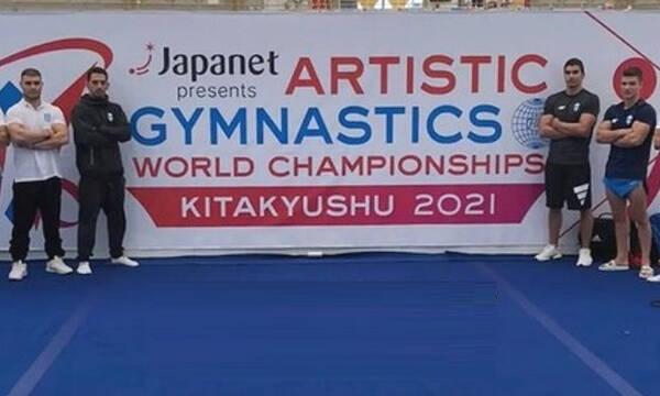 Παγκόσμιο Πρωτάθλημα Ενόργανης γυμναστικής: Ελπίζουν σε πρόκριση Γκίνης και Ηλιόπουλος