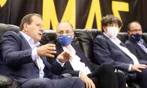 ΑΕΚ: Με Αγγελόπουλο βλέπουν το ματς Γαλατσόπουλος και Λιόλιος