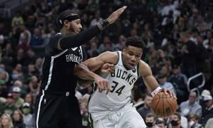 NBA: Μαγικό ξεκίνημα για Μπακς και Γιάννη (photos+video)