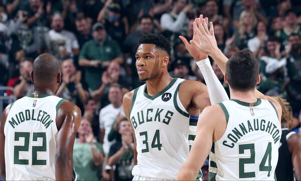 NBA: Πήραν τα δαχτυλίδια τους οι Μπακς (photos+video)