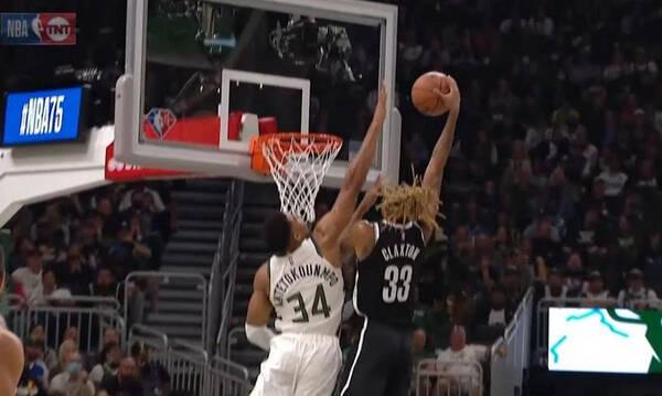 NBA: Το απίθανο σημερινό Top-5 με Γιάννη πρωταγωνιστή (video)