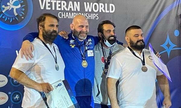 Πάλη: Δύο μετάλλια για την Ελλάδα στο Παγκόσμιο Πρωτάθλημα βετεράνων
