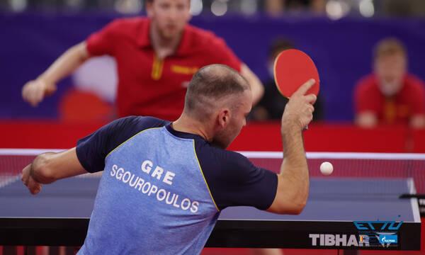 Πινγκ πονγκ: Στο Ευρωπαϊκό πρωτάθλημα Under 21, Τέρπου και Σγουρόπουλος