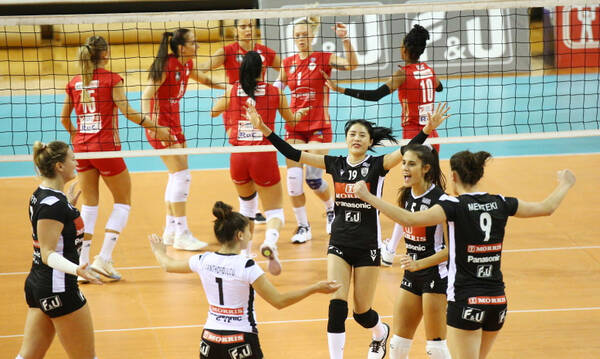 Volley League Γυναικών: Σαρωτικός ο ΠΑΟΚ, «κάρφωσε» τον Ολυμπιακό (photos)