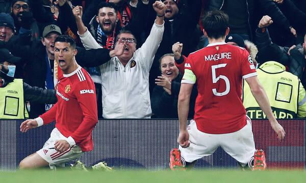 Champions League: «Επτάψυχη» Μάντσεστερ Γιουνάιτεντ - Τρομερή ανατροπή με Αταλάντα - Όλα τα γκολ