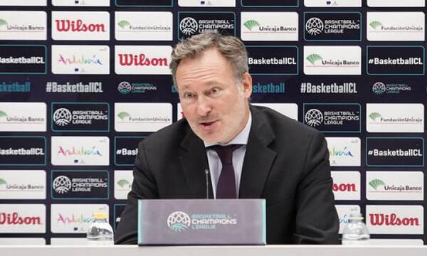 Κομνηνός: «Δεν έχουν γίνει συζητήσεις με ομάδες της Euroleague για να έρθουν στη FIBA»