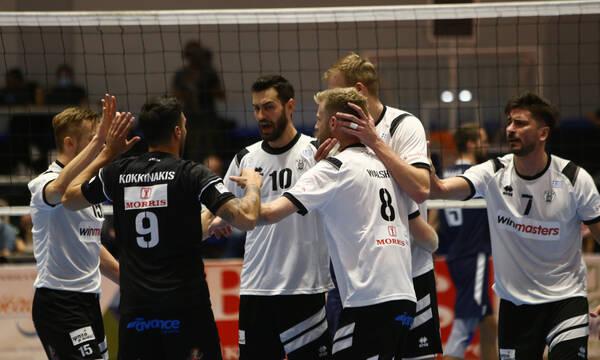 Volley League: Έκανε «σεφτέ» ο ΠΑΟΚ - Πέρασε από το Ζηρίνειο (photos+video)