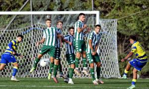 Αστέρας Τρίπολης-Παναθηναϊκός: Λύγισε 3-2 η Κ19 του «τριφυλλιού» σε δραματικό ματς