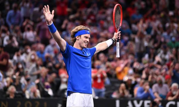 Τένις: Ο Αντρέι Ρούμπλεφ είναι ο 5ος που εξασφάλισε θέση στους ATP Finals