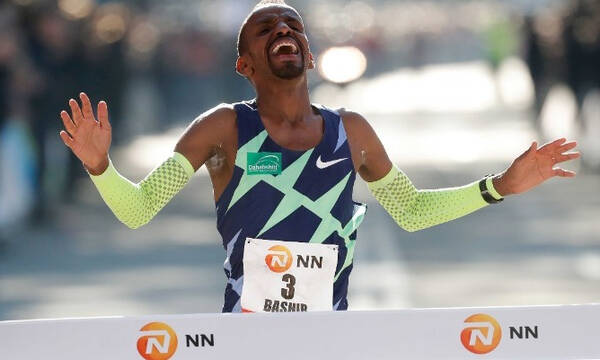 Με ρεκόρ Ευρώπης νικητής στον Μαραθώνιο του Ρότερνταμ ο Μπασίρ