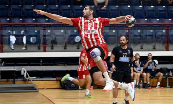 Handball Premier: «Άλωσε» το Δαΐς ο Ολυμπιακός με 34-31 κόντρα στον Δούκα, ισόπαλοι Άρης και Ιωνικός