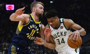 NBA: «Αέρας» στην Ιντιάνα οι Μπακς (photos+video)