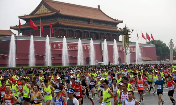 Ακυρώθηκε ο Μαραθώνιος του Πεκίνου, ανησυχία για κορονοϊό ενόψει των Χειμερινών Ολυμπιακών Αγώνων