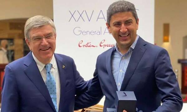 Λευτέρης Αυγενάκης: «Τιμή για την Ελλάδα τα συγχαρητήρια των προέδρων της ΔΟΕ και της ANOC»