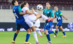 Εθνική γυναικών ποδοσφαίρου: Περίπατος κόντρα στην Σλοβενία